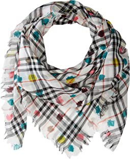 Burberry Kids Vin Check SQ W Spot AAKTX Scarf