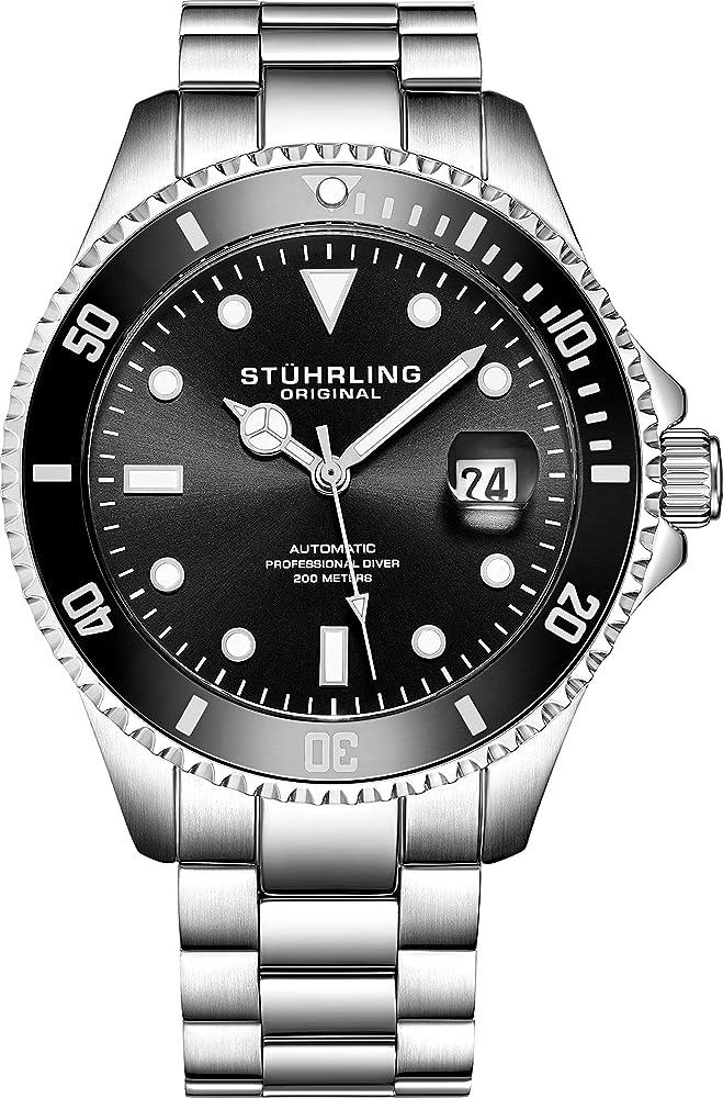 Stuhrling original edizione  orologio automatico da uomo in acciaio inox EU792.01DE