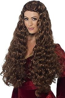 Smiffy's Women's Medieval Princess Wig