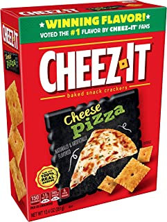 Cheez-It Baked Snack Cheese Crackers, Cheese Pizza, 12.4 oz
