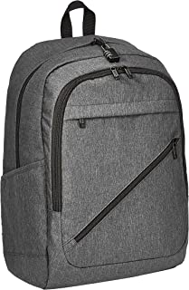 AmazonBasics Anti-Theft Water Resistant Backpack for Laptops Black