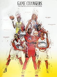 777 Tri-Seven Entertainment Basketball Poster Black Women WNBA Sports History Print African American, 18