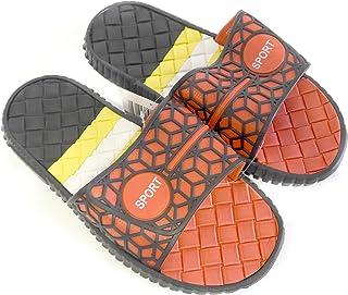 DINY Home & Style Men's Slip-On Slide Sandals Beach Sport Shoes Flip Flops Slippers