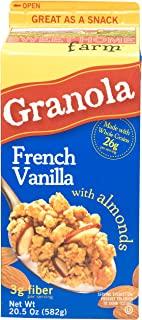 Sweet Home Farm Granola, French Vanilla with Almond, 582g
