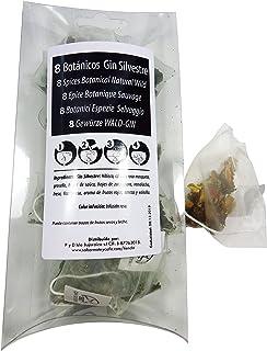 SABOREATE Y CAFE THE FLAVOUR SHOP Botánicos para Gin Tonic Especias Para Cócteles Ginebra Premium Kit Gift Set Gin Sabor Frutas Silvestres Aroma Natural Té Botanic 8 Unidades
