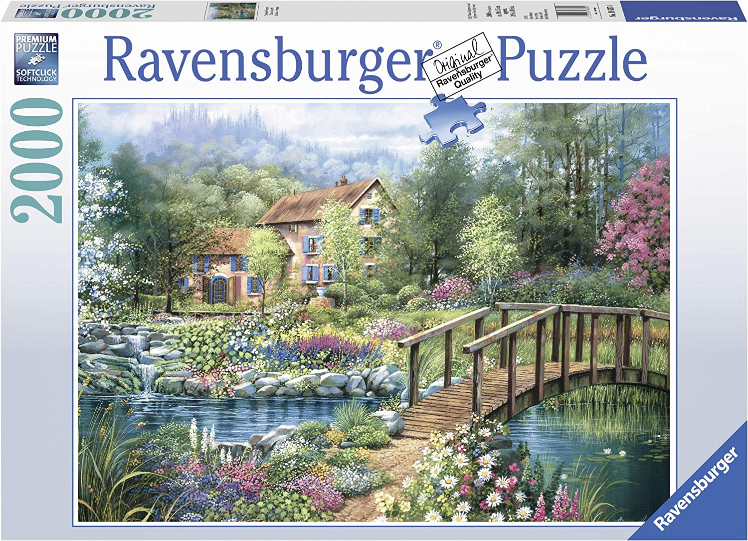 Ravensburger Shades of Summer 2 000 Jigsaw Piece Max 72% Fort Worth Mall OFF Adul for Puzzle