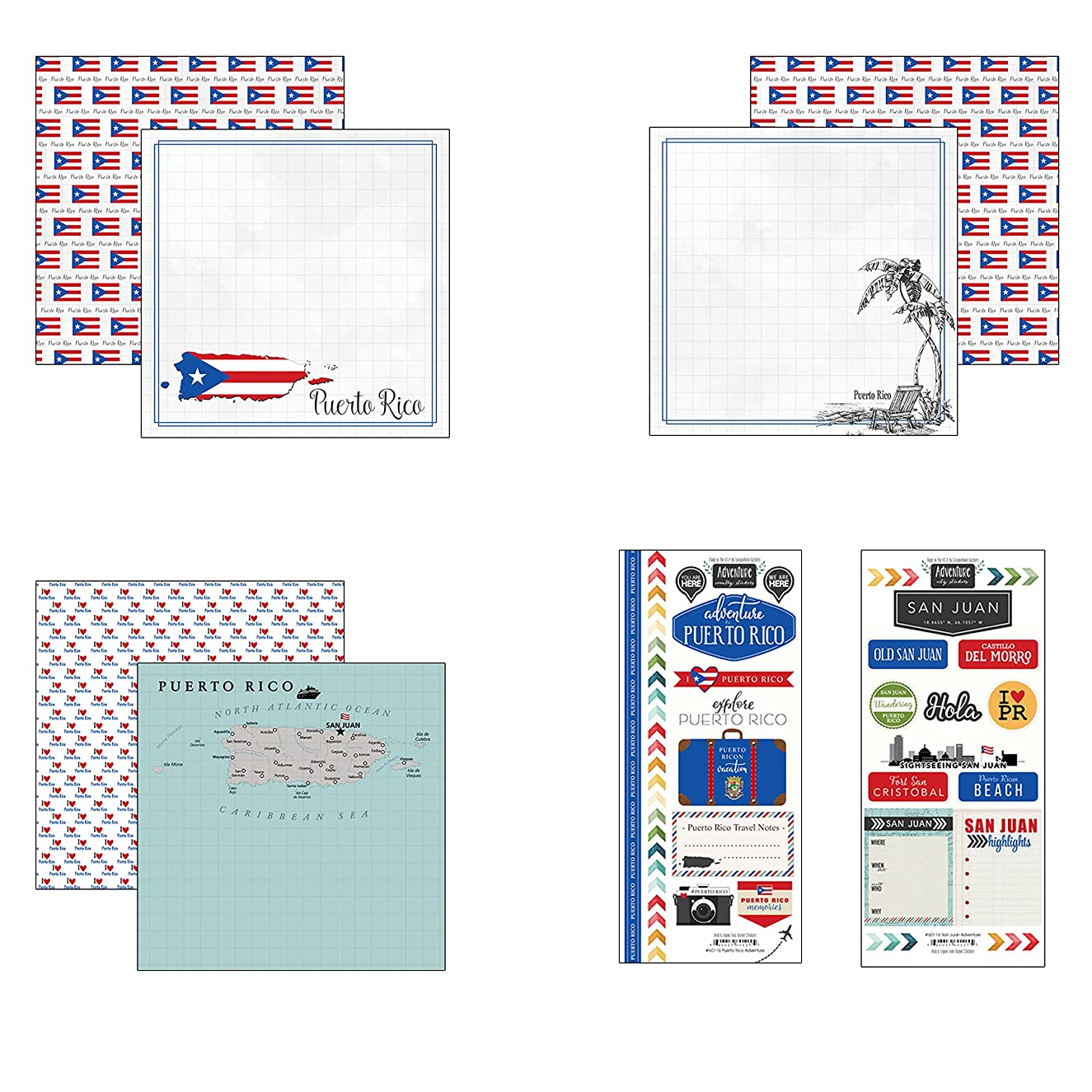Scrapbook Customs Puerto Rico Adventure Scrapbook Kit