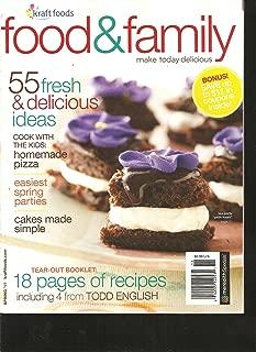 Kraft Food & Family Magazine (55 Fresh & Delicious ideas, Spring 2011)