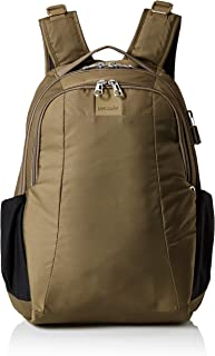 Metrosafe LS350 anti-theft 15L backpack Mochila tipo casual, 42 cm, 15 liters, Verde (Earth Khaki 221)