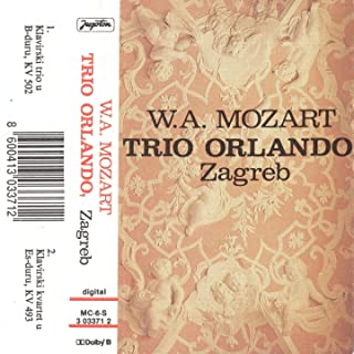 Wolfgang Amadeus Mozart: Klavirski Kvartet U Es-Duru, Kv 493