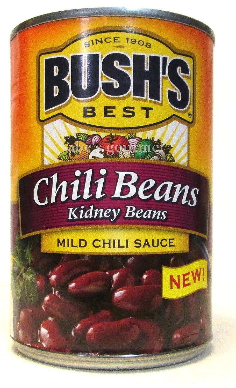 Bush's Chili Beans: Kidney Beans in 2021 model Mild Cheap bargain Sauce Pack 3 of