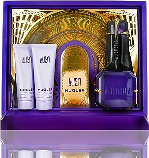 Mugler Alien Eau De Perfume Spray 4 Pieces Set, 4 ml