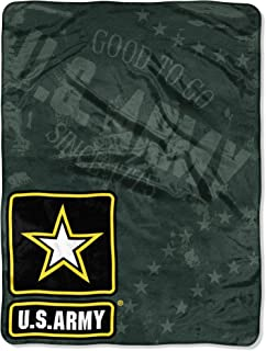 """US Army Department of The United States Army, """"Good to Go"""" 46 60-inch Micro Raschel Throw – by The Northwest Company"""