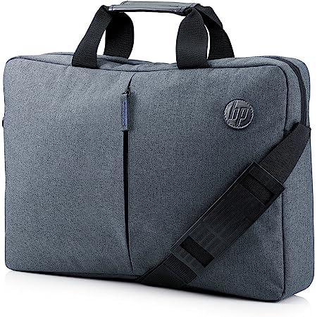 """HP - PC Essential Borsa Tracolla per Notebook fino a 15.6"""", Vano Computer Imbottito, Tasca Esterna Verticale, Tasche Organizer, Tessuto Resistente, Maniglie Robuste, Rivestimento Blu Cobalto, Blu"""