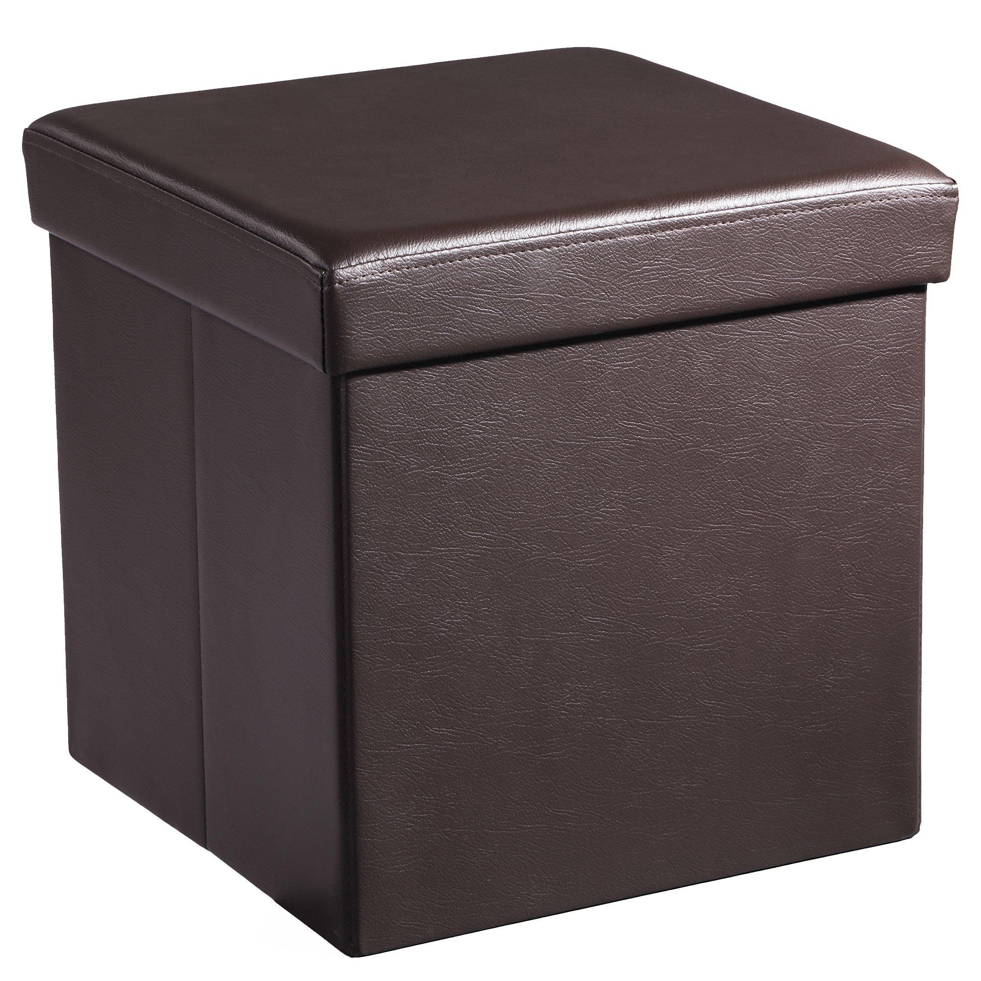 SONGMICS Storage Ottoman Footrest ULSF10B