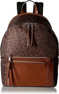 Calvin Klein womens Calvin Klein Lisa Nylon Front Zipper Pocket Backpack