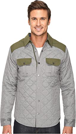 Summit County Quilted Shirt Jacket