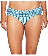 Hope Bay Stripe Smocked Bikini Bottom