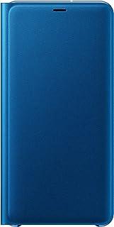 Samsung Original Folio Wallet Cover Case for Galaxy A7 2018 - Blue