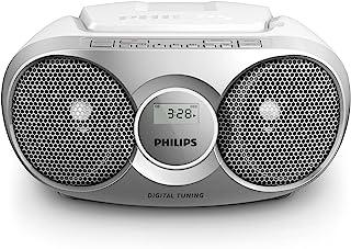 Philips AZ215S – Lecteur CD portable (Facile à utiliser pour enfants – Radio..