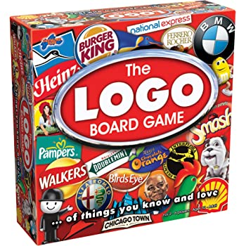 Drumond Park The LOGO Board Game - The Family Board Game of Brands and Products You Know and Love | Family Games For Adults And Kids Suitable From 12+ Years