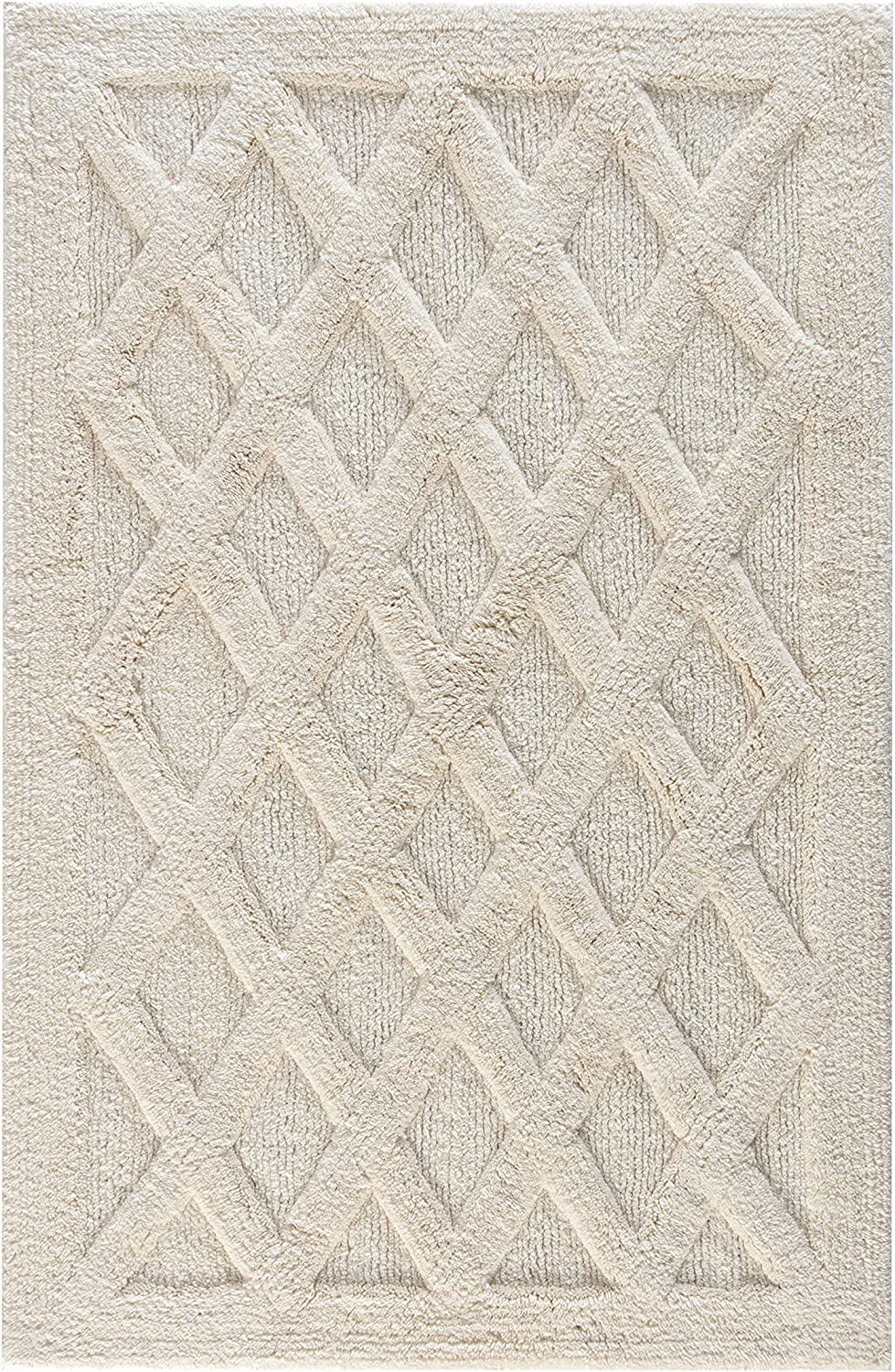 store MH London Alderbury New product! New type Hand Woven Bath - Rugs 100 Using Tufted