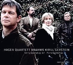 Brahms: String Quartet No. 3 in B-Flat Major, Op. 67 & Piano Quintet in F Minor, Op. 34