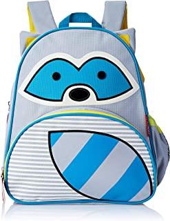 Skip Hop Zoo Pack Little Kids Backpack, Raccoon