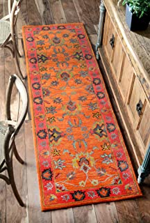 nuLOOM Montesque Hand Tufted Wool Runner Rug, 2' 6