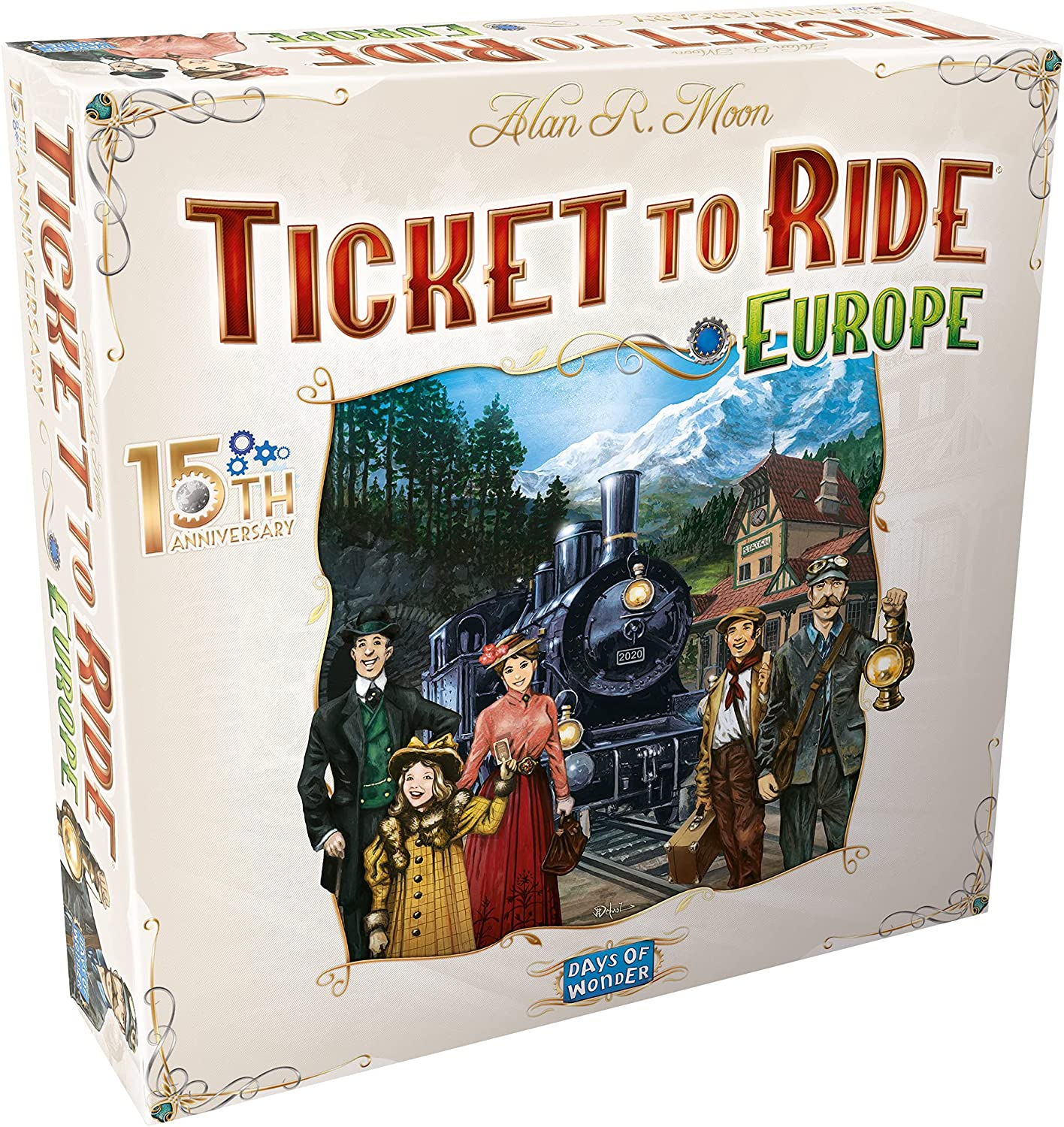 Trust Ticket Ranking TOP2 to Ride Europe Board Edition Anniversary Deluxe 15th Game