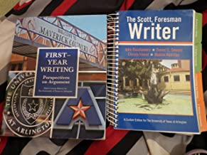 First Year Writing: Perspectives on Argument UTA Edition