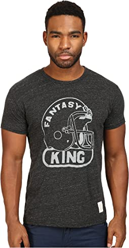 The Original Retro Brand - Fantasy King Short Sleeve Tri-Blend Tee