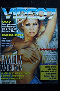 VIDEO 7 157 1995 COVER PAMELA ANDERSON SANDRA SPECHERT + CAHIER EROTIC