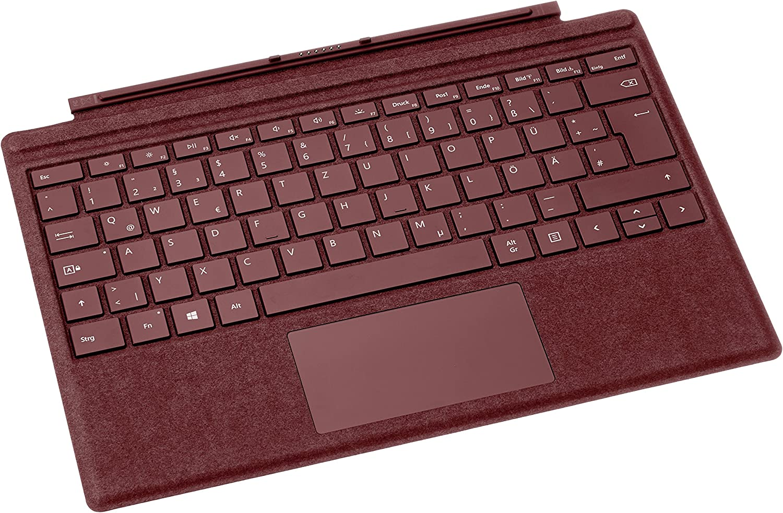 Microsoft FFP-00045 Microsoft Cover Port Rojo Teclado para móvil - Teclados para móviles (Rojo, Resistente a rayones, Mini, Microsoft, Surface Pro ...
