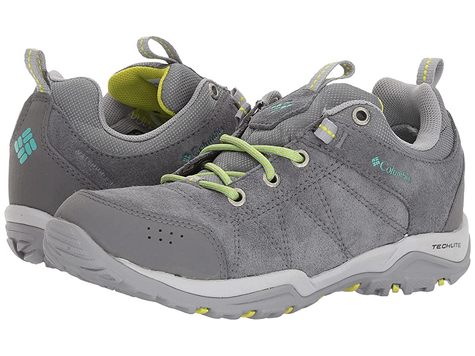 Columbia Fire Venture Low Waterproof (Ti Grey Steel/Aquarium) Women