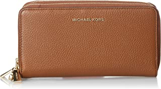 Michael Kors Womens Wristlet, Luggage - 34H9GJ6W7L One Size
