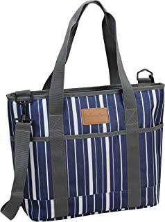 Insulated Tote Bag | Picnic Insulated Lunch Bag Carrier | Excellent Insulated Cooler Zipper Tote Bag for Women/Men | Trave...
