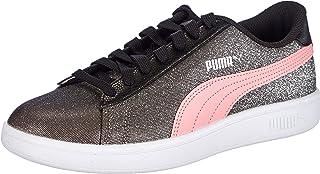 Puma Smash V2 Glitz Glam Jr, Baskets Fille