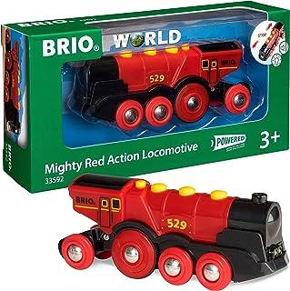 BRIO-33592 Gran Locomotora a Pilas con luz y Sonido, Color