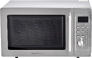 comprar comparacion AmazonBasics – Microondas digital de mesa con grill, 25l, 900W, acero inoxidable
