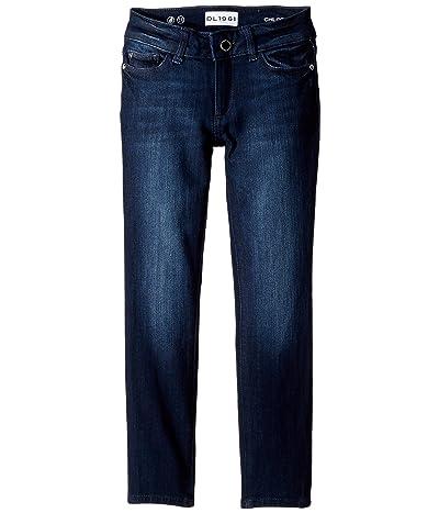 DL1961 Kids Chloe Skinny Jeans in Lima (Big Kids) (Lima) Girl
