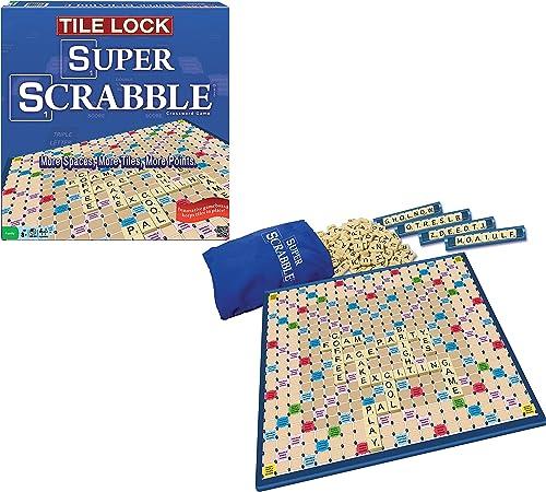 Deluxe Super Scrabble  Tile Lock