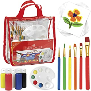 Faber-Castell Young Artist Learn to Paint Set - Washable Pai