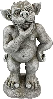 Design Toscano LY312106 Plato The Ponderer Gargoyle Imp Statue