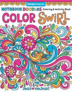 Notebook Doodles Color Swirl: Coloring & Activity Book (Design Originals) 32 Curly, Swirly Designs; Beginner-Friendly Rela...
