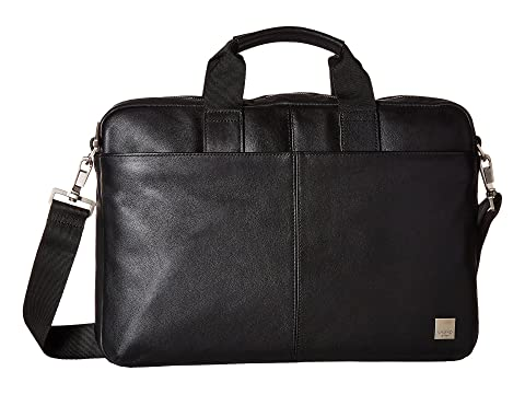 Shopping Online High Quality KNOMO London Brompton Classic Durham Slim Briefcase Black Buy Sale Online Countdown Package For Sale Sale Footaction Clearance Visit DJXKRcG