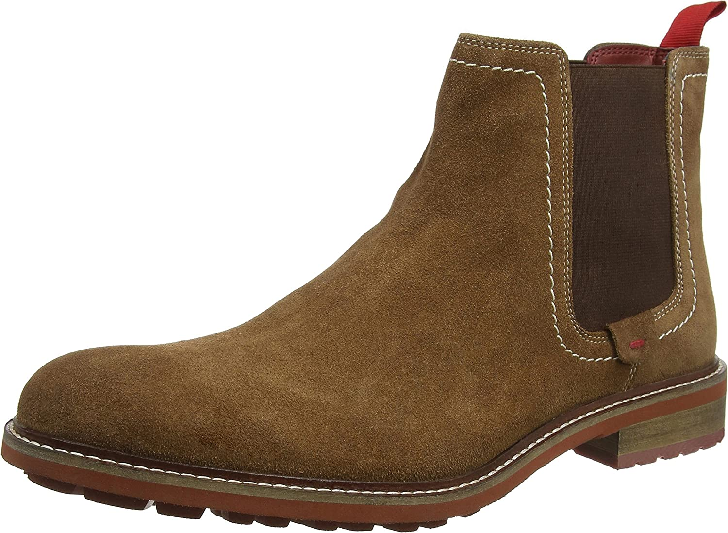 Joe Browns Mens Suede Chelsea Boots