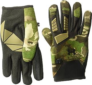 Under Armour Men's Speed Freek Wool Gloves, Ridge Reaper Camo Forest (943)/Black, Large