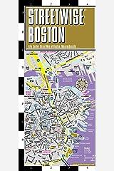 Streetwise Boston Map - Laminated City Center Street Map of Boston, Massachusetts (Michelin Streetwise Maps) Map