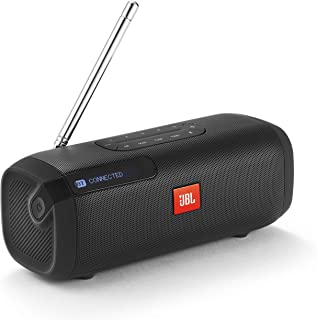 JBL TUNER FM Bluetoothスピーカー ポータブル/ラジオ/ワイドFM対応 ブラック JBLTUNERFMBLKJN 【国内正規品/メーカー1年保証付き】